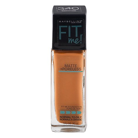 Maybel Fit Me Matte Pore Fd Cappucino - 1 Fl. Oz.