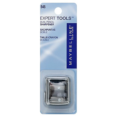 Maybelline Exprt Dual Pencil Sharpner - Each