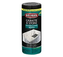 Weiman Granite Wipes - 30 Count