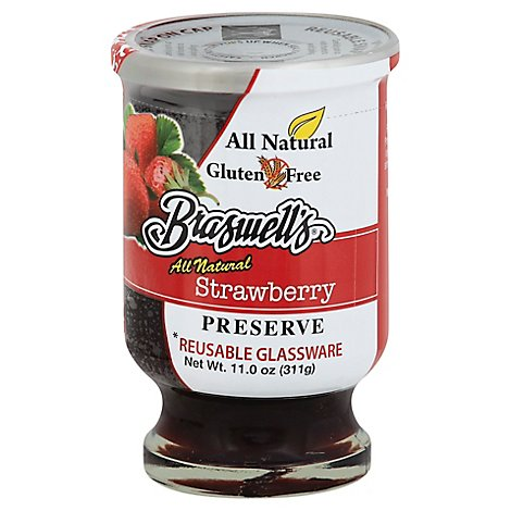 Braswells Preserve Strawberry - 11 Oz