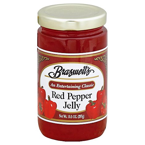 Braswells Jelly Red Pepper - 10.5 Oz