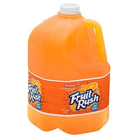 Fruit Rush Fruit Drink Orange - 3.78 Liter
