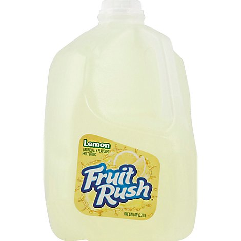 Oak Farms Fruit Rush Lemon Chilled - Gal