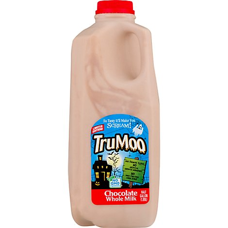 TruMoo Milk Whole Chocolate - Half Gallon