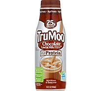 TruMoo Milk Lowfat 1% Milkfat Chocolate High Protein - 14 Fl. Oz.