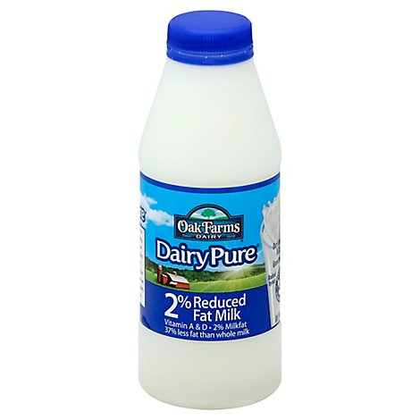 DairyPure Milk Reduced Fat 2% - 1 Pint