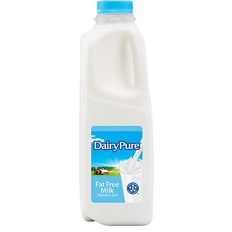DairyPure Skim Milk Fat Free With Vitamin A & D - 32 Fl. Oz.