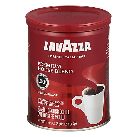 LavAzza Coffee Ground Premium House Blend - 10 Oz