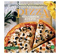 Amys Pizza Mushroom And Olive Frozen - 13 Oz