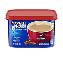Maxwell House International Beverage Mix Cafe-Style Cafe Vienna - 9 Oz