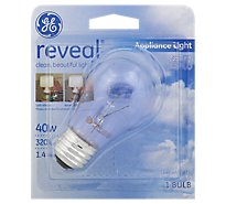 GE Bulb Reveal Appliance 40 Watt - Each