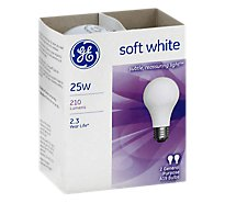 GE Soft White A/W 25 Watt 2 Pk - 2 Count