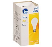 GE Soft White A/W 200 Watt - Each