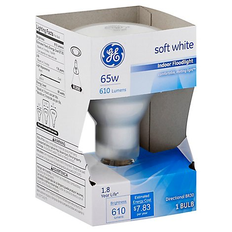 GE Floodlight Indoor 65 Watt 65rf - Each