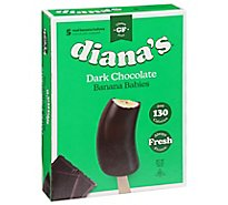 Dianas Bananas Banana Babies Dark Chocolate - 10.5 Oz