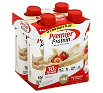 Premier Protein Shakes Strawberry - 4/11Oz