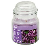Langley Home Candle Scented Lilac - 3 Oz