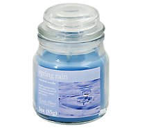 Langley Home Candle Scented Spring Rain - 3 Oz