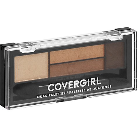 COVERGIRL Eye Shadow Quads 4-Kit Go For The Golds 705 - 0.06 Oz