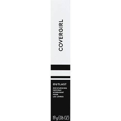 COVERGIRL Outlast Lipcolor All-Day Moisturizing Topcoat Clear - 0.06 Oz