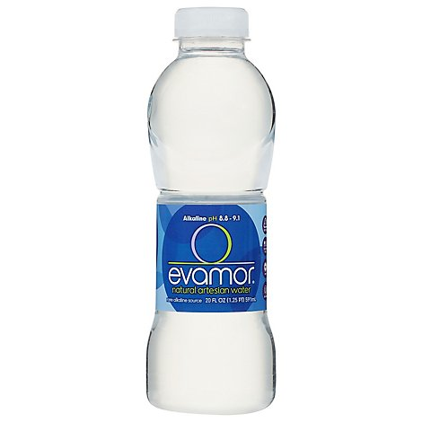 evamor Artesian Water Natural - 20 Fl. Oz.