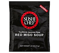 Sushi Chef Soup Red Miso - 0.53 Oz