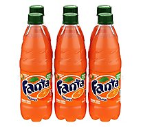 Fanta Soda Orange - 6-16.9 Fl. Oz.