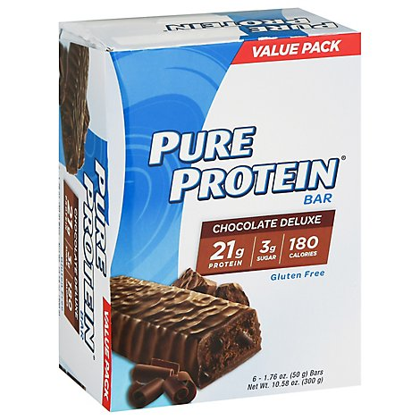 Pure Protein Chocolate Deluxe - 6-1.76 Oz