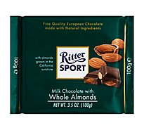 Ritter Sport Dark Chocolate with Marzipan - 3.5 Oz