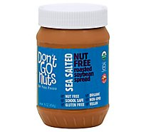 Dont Go Nuts Soy Butter Nut Free Foods Lightly Sea Salted - 16 Oz