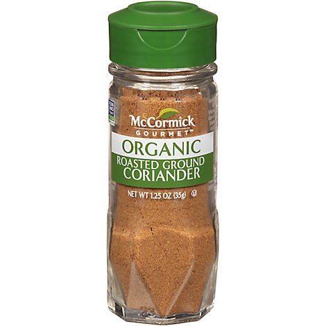 McCormick Gourmet All Natural Coriander Roasted Ground - 1.25 Oz