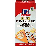 McCormick Spice Blend Extract Pure Pumpkin Pie - 1 Fl. Oz.