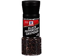 McCormick Seasoning Grinder Black Peppercorn - 2.5 Oz
