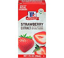 McCormick Extract Strawberry With Other Natural Flavors - 1 Fl. Oz.