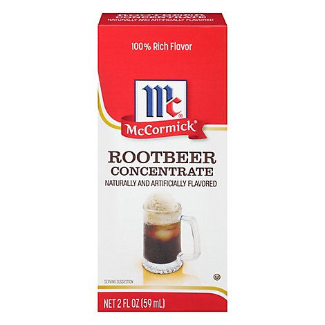 McCormick Extract Concentrate Root Beer - 2 Fl. Oz.