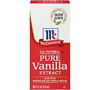 McCormick Extract All Natural Pure Vanilla - 4 Fl. Oz.