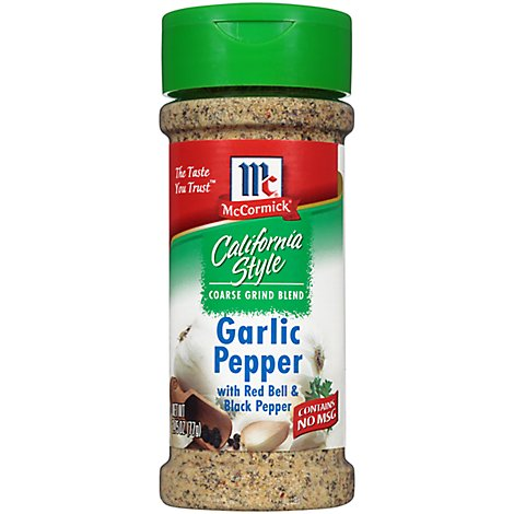 McCormick California Style Coarse Grind Blend Garlic Blend - 2.75 Oz