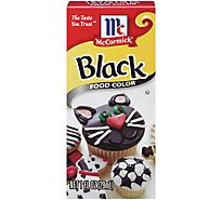 McCormick Food Color Black - 1 Fl. Oz.
