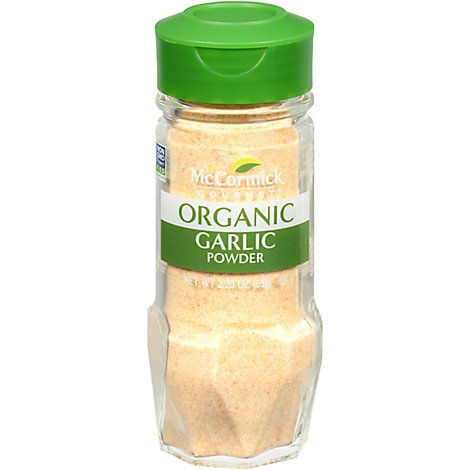 McCormick Gourmet Organic Garlic Powder - 2.25 Oz