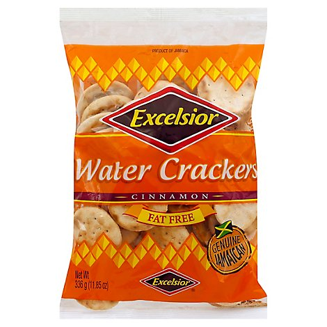 Excelsior Cinnamon Fat Free Water Crakers - 11.85 Oz