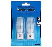 Prime Night Light Photocell Activated - 2 Count