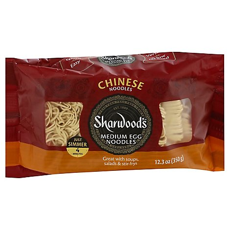 Sharwoods Chinese Noodle - 12.3 Oz