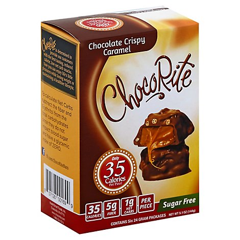 Chcrt Bar Chocolate Crispy Caramel - 5.04 Oz