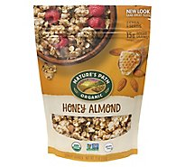 Natures Path Organic Granola Gluten Free Honey Almond - 11 Oz
