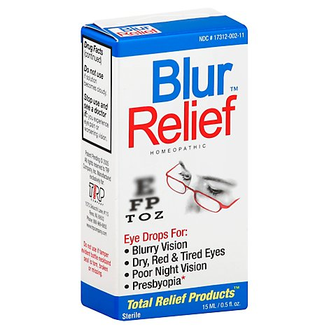Blur Relief Eye Drops - .5 Fl. Oz.