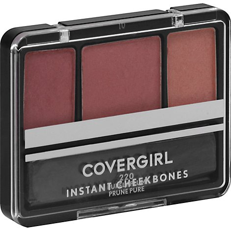 COVERGIRL Instant Cheekbones Contouring Blush Purely Plum 220 - 0.29 Oz