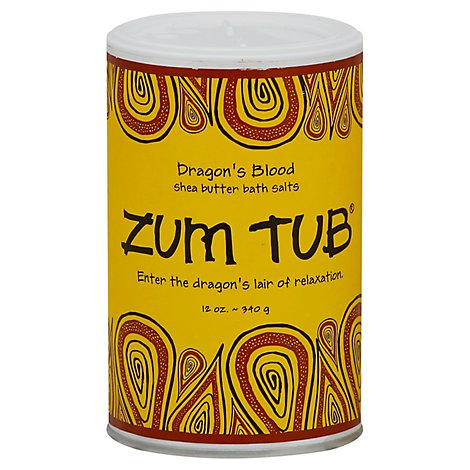 Dragons Blood Zum Tub 12 Oz - 12 Oz