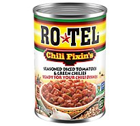 RO-TEL Tomatoes Diced & Green Chilies Seasoned Chili Fixins - 10 Oz