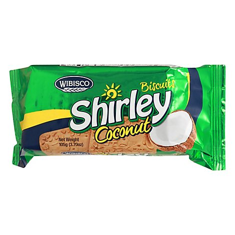 Shirley Coconut Biscuits - 3.7 Oz