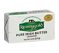 Kerrygold Butter Pure Irish Unsalted - 8 Oz